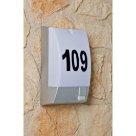 Massive VIGO 17206/87/10 svítidlo s čidlem a číslem domu