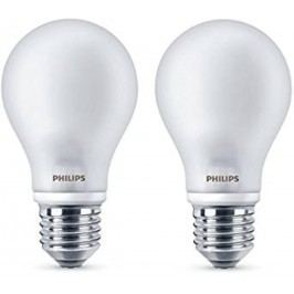 PHILIPS žárovka LED E27; 4,5W = 40W; 2 ks