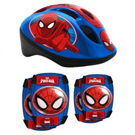Spiderman sada helma + chrániče pro děti