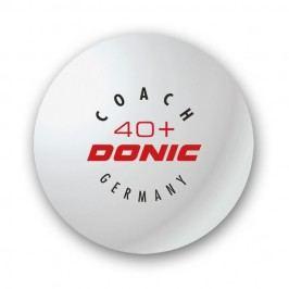 Donic 40+ Coach bílé 6ks