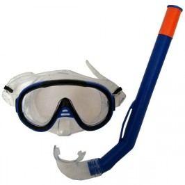 Francis Brýle Cristal Junior + šnorchl Junior modrá