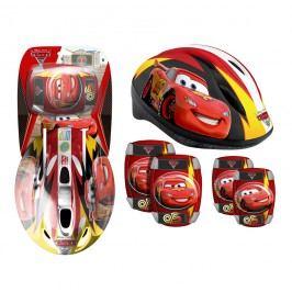 Disney Cars sada helma + chrániče pro děti