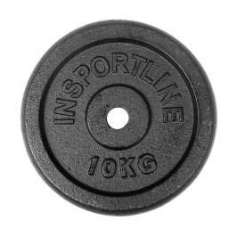 inSPORTline 10 kg ocelové