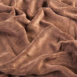 Svitap Napínací prostěradlo mikroplyš, 90x200 nebo 180x200 tmavě hnědá 180 x 200 cm