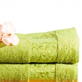 FORBYT Bambusové ručníky kiwi sada 4 kusů 50 x 90 cm