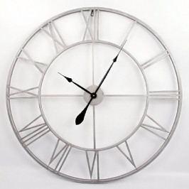 Nástěnné hodiny Old Style, 83 cm šedá