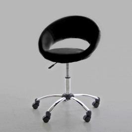 Kancelářská židle na kolečkách Sunny černá