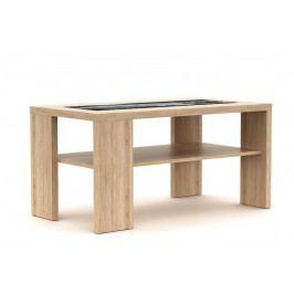 Konferenční stolek s potištěným sklem K152