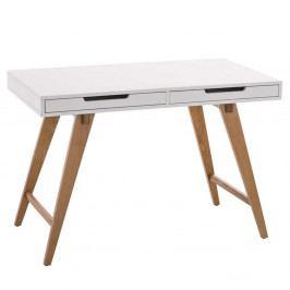 Pracovní stůl se zásuvkami Hunt, 110 cm