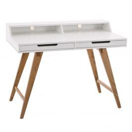 Pracovní stůl se zásuvkami a nástavbou Hunt, 110 cm