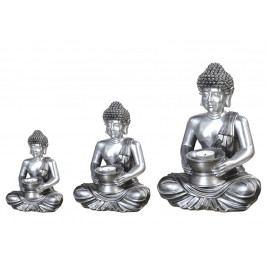 Stolní svícen Buddha, 30 cm