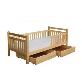 Moderní dětská postel s úložným prostorem MARCELKA B925