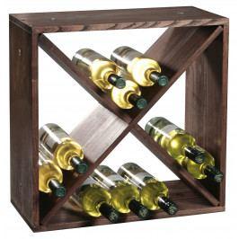 Stojan na víno borovice tmavé moření E434