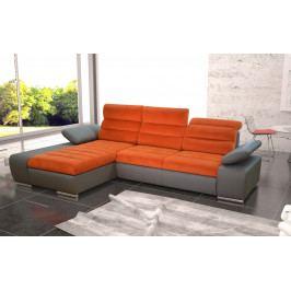 Rozkládací rohová sedačka s možností výběru barvy s úložným prostorem KN1178