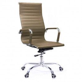 Kancelářské křeslo v barvě capuccino TK4004