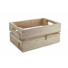 Dřevěná bedýnka přírodní 30x20 cm