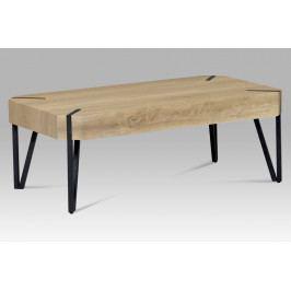 Konferenční stolek v dekoru bělený dub AHG-241 OAK2 AKCE
