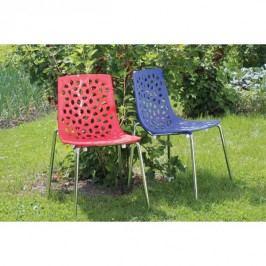 Židle chromovaná VACA Z608