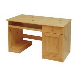 Psací stůl dvířka + 1 zásuvka B042