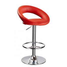 Barová židle KROKUS C-300 červená