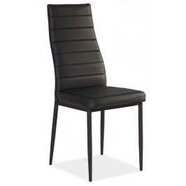 Jídelní židle kovová KN165 černá