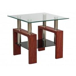 Stylový konferenční stolek v barvě třešeň typ D KN126