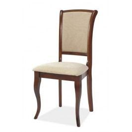 Jídelní čalouněná židle MN-SC ant. třešeň/T01