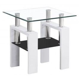 Stylový konferenční stolek v bílé barvě typ D KN126
