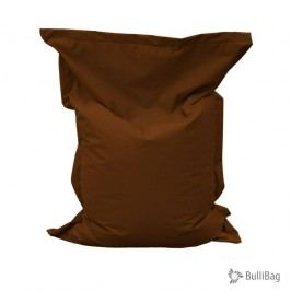 Relaxační vak BulliBag-hnědá, 100%polyester, 100cm x70cm