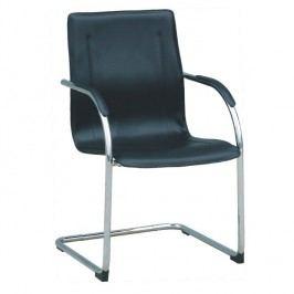 Konferenční židle ve stylovém designu černá MI-01