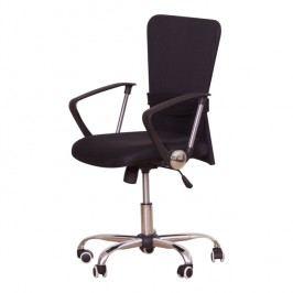 Kancelářské křeslo ve stylovém provedení černá AEX