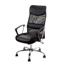 Kancelářské křeslo ve stylovém moderním provedení černé TC3-973M