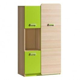 Skříňka v jednoduchém moderním provedení zelená EGO L5