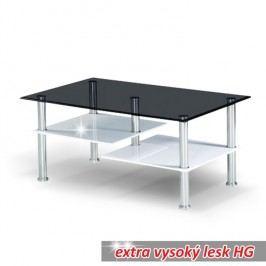 Konferenční stolek v jednoduchém moderním provedení černá SVEN