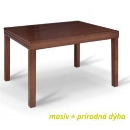 Jídelní stůl rozkládací v moderním dřevěném provedení ořech FARO