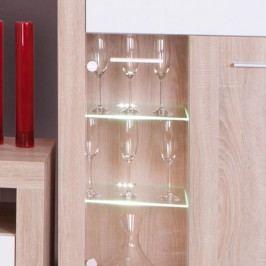 Dvoubodové LED osvětlení ve stylovém bílém podbarvení TK154