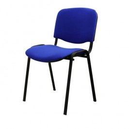 Konferenční židle v jednoduchém moderním provedení modrá ISO NEW