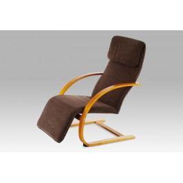 Relaxační křeslo třešeň/potah tmavě hnědý ATC-11000 TR2