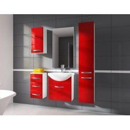 Koupelnová sestava CORAL červená