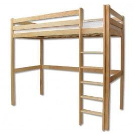 Dřevěná poschoďová postel o šířce 90 cm typ KL128 KN095