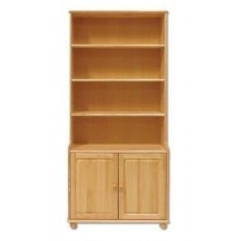 Dřevěný praktický regál s úložným prostorem typ WK127 KN095