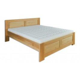 Dřevěná stylová manželská postel o šířce 180 cm typ KL112 KN095