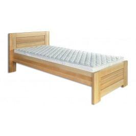 Dřevěná stylová postel o šířce 100 cm typ KL161 KN095