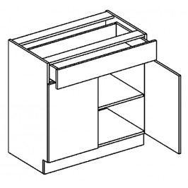 D80/S1 dolní skříňka se zásuvkou MORENO cocobollo