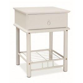 Noční stolek KN1310 bílý