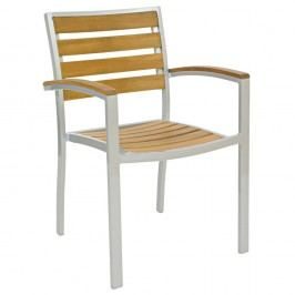 Zahradní hliníková židle CAM06602