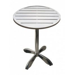 Zahradní hliníkový stůl kulatý 70 cm MTA 003