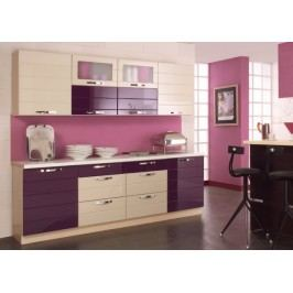 Kuchyňská linka LAURA lak 260 cm s možností výběru barvy