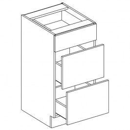 Skříňka dolní se zásuvkami OLIWIA D40 S/3