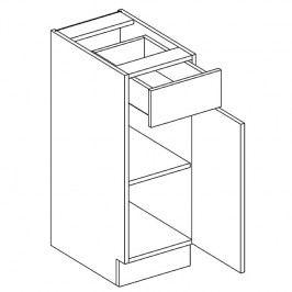 Skříňka dolní 30cm OLIWIA D30 S/1 pravá